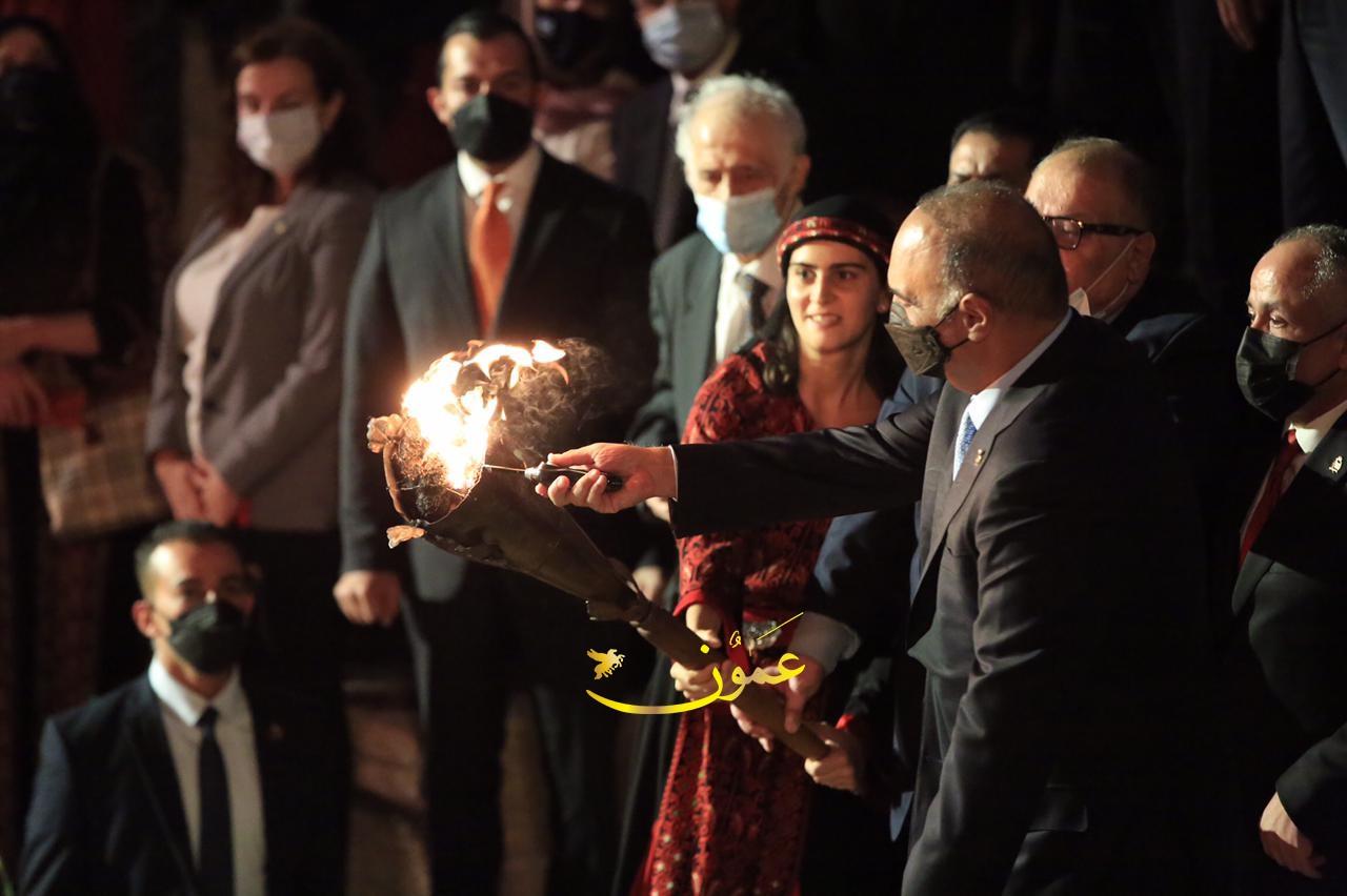 انطلاق فعاليات مهرجان جرش (صور)