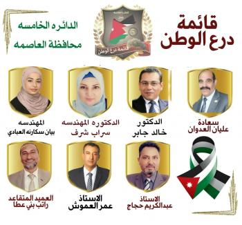 اشهار قائمة درع الوطن في خامسة عمّان