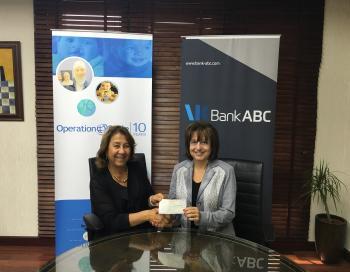 بنك ABC يواصل دعمه لجمعية عملية الابتسامة