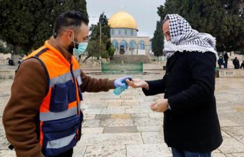 فلسطين تعلق صلاة الجمعة