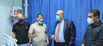 27 اصابة بحادثي سير في الزرقاء ..  والزريقات يعود المصابين