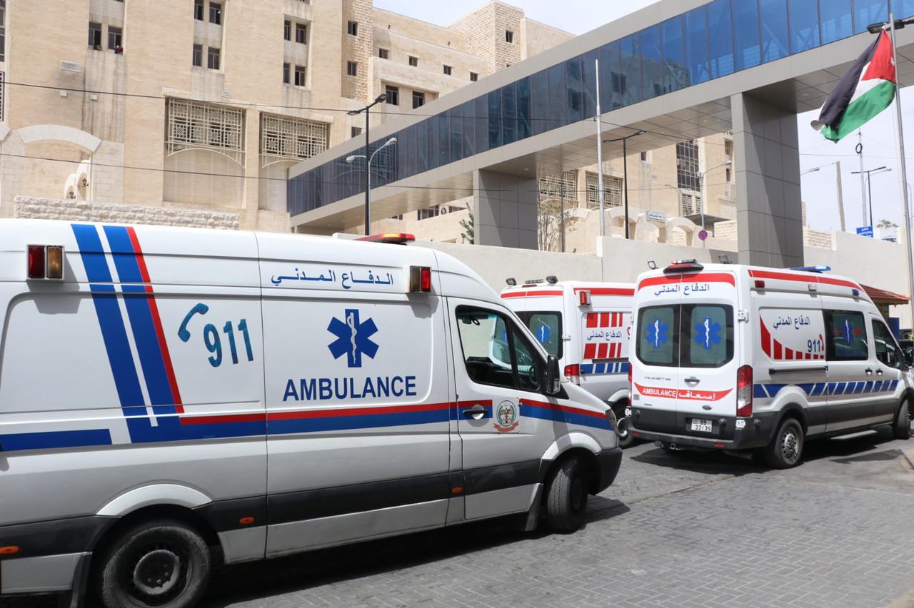 الدفاع المدني يتعامل مع 1247 حالة إسعافية