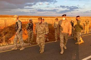 الحنيطي لكتيبة (أم الشهداء): بذل أقصى الجهود لحماية الوطن ومقدراته