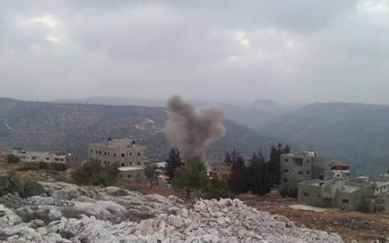 تفجير منزل شهيد فلسطيني وهدم جماعي في النقب