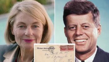 رسائل كينيدي لـمحبوبته السويدية في مزاد للبيع