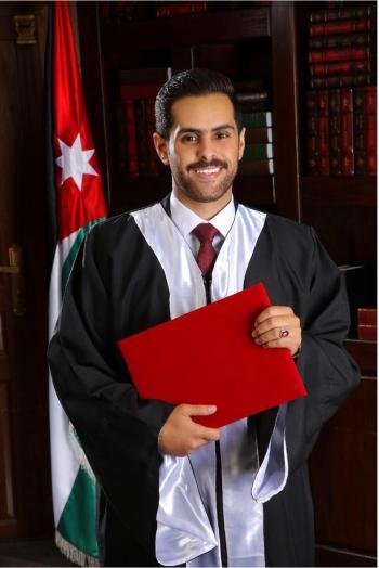 المهندس مدين البراري العجارمة مبارك التخرج