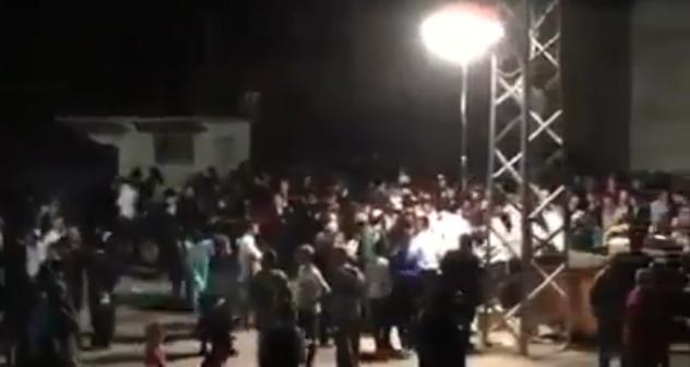 بالفيديو: مئات المستوطنين يقتحمون بلدة كفل حارس