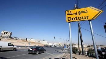 تحويلات مرورية على طريق اتوستراد عمان - الزرقاء لمدة شهر