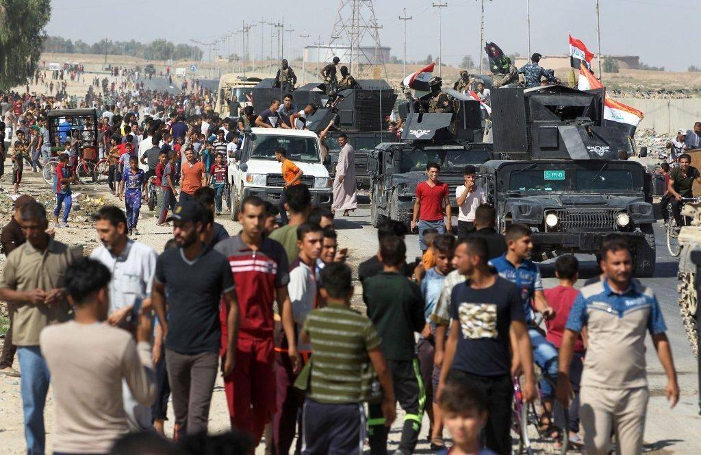 الجيش العراقي يعلن فرض الأمن في كركوك