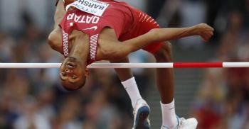 القطري معتز برشم يحرز ذهبية الوثب العالي في أولمبياد طوكيو