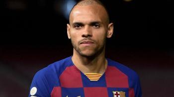  برشلونة يعلن تفاصيل إصابة مارتن برايثوايت