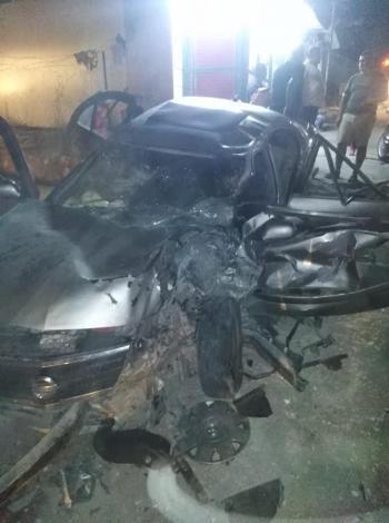 6 اصابات بحادث تصادم قرب البحر الميت