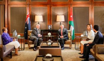 الملك يؤكد حرص الاردن على توسيع الشراكة مع استراليا (صور)