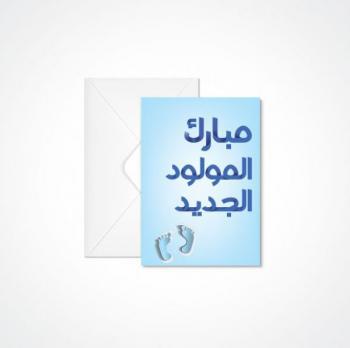 محمد الهباشين ..  مبارك المولود الجديد