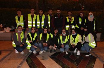 فريق العطاء التطوعي يحتفل بعيد ميلاد الملك ومئوية الدولة