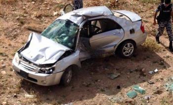وفاة شخصين بحادث تدهور في اربد
