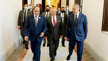 هل تسعى إسرائيل لتأسيس منتدى ثلاثي مع الأردن ومصر؟