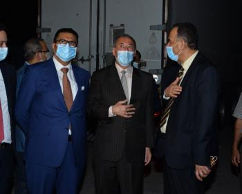المساعدات الطبية الأردنية تصل بغداد