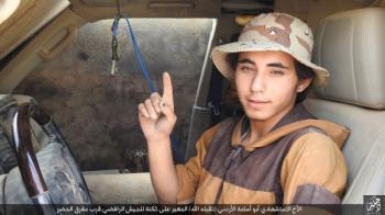 أبو أسامة الأردني يفجر نفسه بالعراق