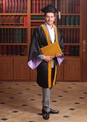 سلطان جمال الفايز .. مبارك التخرج