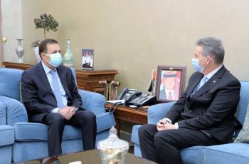 النعيمي يعرض تجربة الأردن في التعليم عن بعد للسفير الأسترالي