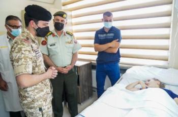 اهتمام لبناني بزيارة ولي العهد لطفلة نقلت للعلاج في الأردن