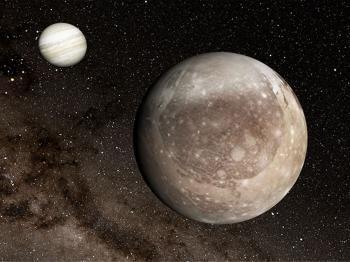 ناسا تنشر صورًا مذهلة لأكبر أقمار المشتري