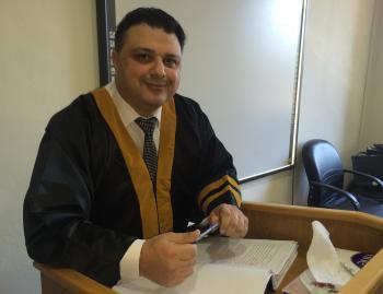 الدكتوراه للقاضي رائد الشناق