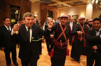 حفل استقبال الرئيس المقدوني في عمان