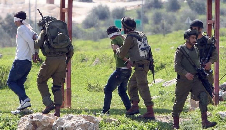 الاحتلال يعتقل 11 فلسطينياً