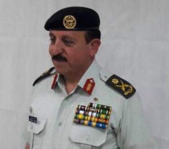 العياصرة مديرا للمكتب العسكري للملك
