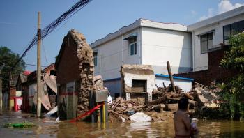 ارتفاع ضحايا الفيضانات في الصين إلى 58 شخصا