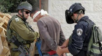 الاحتلال الاسرائيلي يعتقل 10 فلسطينيين بالضفة