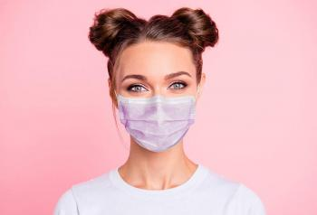 خطوات تطبيق المكياج عند ارتداء قناع الوجه
