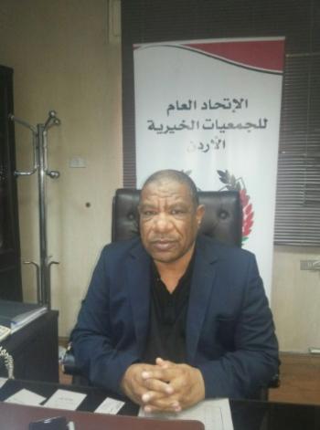الخريشا يتفقد سير العمل في اتحاد الجمعيات الخيرية بعجلون