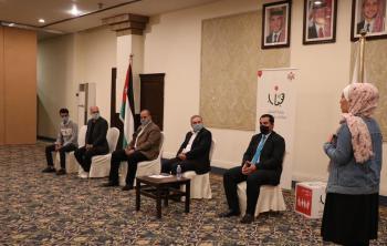 وزير الشباب يلتقي المشاركين بدورة إعداد الممثل