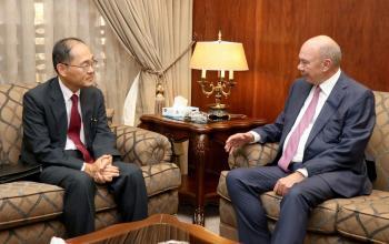 رئيس مجلس الاعيان يلتقي السفير الياباني لدّى المملكة