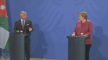 الملك لميركل: شراكتنا جيدة وقوية مع ألمانيا من أجل إحلال السلام