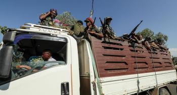 قوات إقليم تيغراي تدمر مطارا تحت سيطرة الجيش الإثيوبي