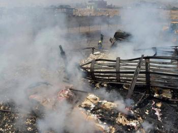 انفجار دموي ..  25 قتيلا من متسوقي العيد في أفغانستان