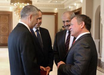 كريشان يؤدي اليمين أمام الملك سفيرا لدى استراليا