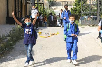 صور من اليوم الاول لدوام طلبة المدارس بعد عطلة 6 اشهر