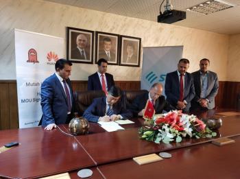 جامعة مؤتة توقع اتفاقية تعاون مع شركة هواوي