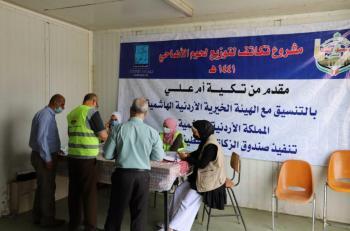 تكية أم علي توزّع لحوم الأضاحي على 6 آلاف و315 أسرة محتاجة في الضفة الغربية