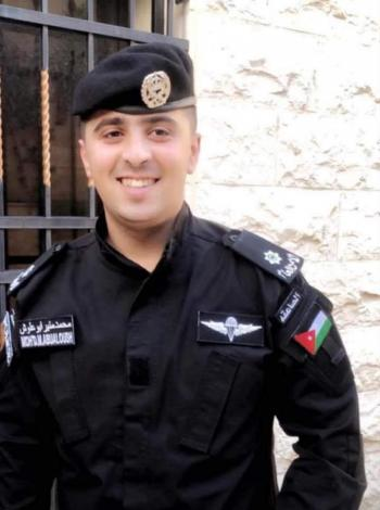 الملازم محمد والدكتور يزن ابو علوش مبارك التخرج