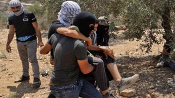 إصابة 435 فلسطينيا خلال مواجهات في نابلس