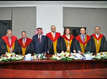 الدكتوراه للمحامي حازم علي النسور