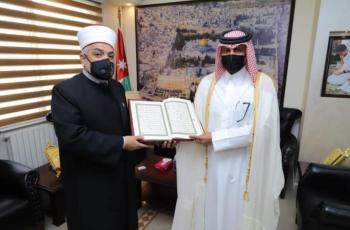 قطر تهدي الأردن 3 آلاف مصحف