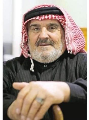 الحاج عبدالرحمن الخطيب أيقونة فرقة معان للفنون الشعبية على سرير الشفاء