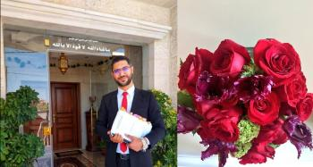 علاء زهير المنصور  .. مبارك الدكتوراه